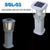 Lampada solare calda del giardino dell'indicatore luminoso di via di vendita LED fatta in Cina