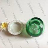 50g obscuridade - frasco cosmético do vidro verde com o tampão de Alumite para o empacotamento de Skincare (PPC-GJ-013)