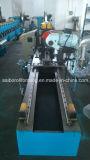 Quadratische Rohr-Hochgeschwindigkeitsrolle, die Maschinen-Zeile bildet