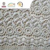 Blumenbaumwollempfindliches Spitze-Gewebe, neuester Entwurf und Muster, fantastisches Material für Kleid und Dekoration 2017