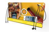 Publicidad de estaciones de carga móviles de la cartelera