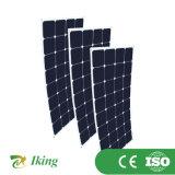 100W Sunpower 유연한 태양 전지판 반 유연한 위원회