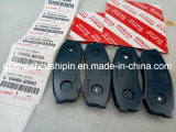 Bremsbelag-Rückseiten-Autoteile für Toyota Prado 04466-60090