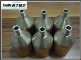 Piezas mecánicas de cobre amarillo, productos que trabajan a máquina del latón de la precisión del CNC