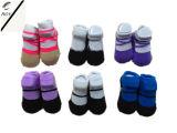 6つのカラー子供の動物のヘッド屋内靴(RY-SL16127)