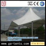 Большой роскошный шатер торговой выставки