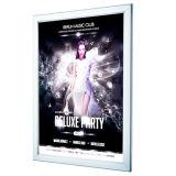 Blocco per grafici di alluminio del LED Lightbox che fa pubblicità alla casella chiara sottile
