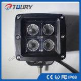 20W luces del punto ligero del trabajo del CREE LED para el jeep de SUV