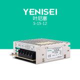 S-15-12 12V 1.3A 15W Wechselstrom Schalter-Modus-Stromversorgung Gleichstrom-zur Mini-SMPS