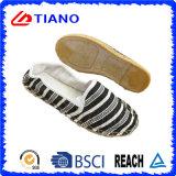Señora plana y cómoda Shoes (TN36708) de la venta caliente del pescador de las sandalias