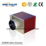 Testa Js3808 del galvanometro di Cino-Galvo per i jeans dell'incisione del laser