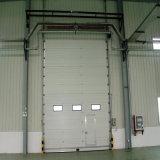 Porte commerciale supplémentaire sectionnelle isolée par acier