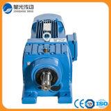 Eje coaxial del motor con engranajes helicoidal (R107AF-Y160L4-15-29.49-M1-270)
