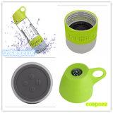 Haut-parleur extérieur de bouteille d'eau imperméable à l'eau fonctionnelle avec la boussole