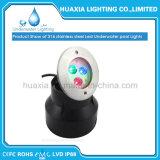 DC12V IP68 RGB Muiti 색깔 LED Recesse 가벼운 수중 빛