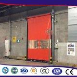 Professionele Fabriek Gemaakt tot Energy-Efficient Pakhuis de Snelle Deur van pvc