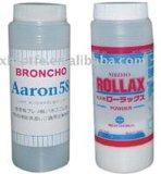 ベルトのクリーニングの粉、粘着テープのクリーニングの粉