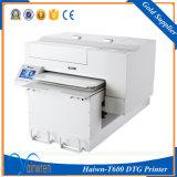 Impressora DTG de grande formato Jeans Jacket T Shirt Printing Machine Haiwn-T600