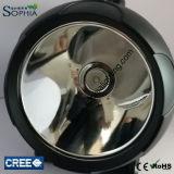 Nueva prueba de mal tiempo 20W linterna LED con luz de parpadeo recargable