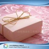 Caixa cosmética de empacotamento de papel rígida luxuosa da jóia do alimento do presente (XC-hbg-013)