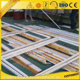Kundenspezifische Aluminiumschiebetür-Aluminiuminnentür