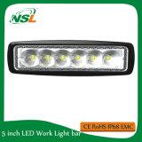 자동 LED 일 빛 LED 플러드 반점 광속 Epsitar LED 18W