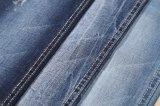 SGS 9.9oz 8sのあや織りの綿のスパンデックスの濃紺のデニムファブリック