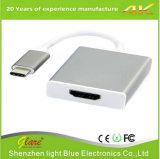Tipo C do USB 3.1 de adaptador de HDMI conversor fêmea do USB C a do HDMI