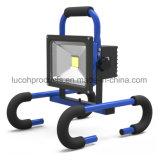 가벼운 재충전용 LED 투광램프를 작동하는 휴대용 LED 일 빛 20W