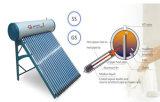 Compacto de China todo el calentador de agua solar de calor de la presión de cristal del tubo