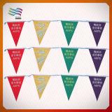 Bandeira feita sob encomenda da estamenha do feliz aniversario com caraterística impermeável