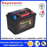 Batería automotora sin necesidad de mantenimiento sellada de 12V 60ah para comenzar del coche