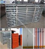 構築の安全な耐久の足場支柱
