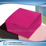 음식 초코렛 케이크 (xc-fbk-014)를 위한 접히는 종이 포장 상자
