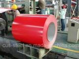 JIS G3312 a enduit les bobines d'une première couche de peinture en acier galvanisées de la bobine Z275/PPGI