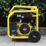 Gerador silencioso da gasolina portátil do começo da chave da fase monofásica da C.A. do bisonte (China) BS3000n 2.5kw 2.5kVA para o uso Home