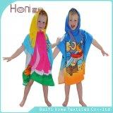 Дети плащпалата, плащпалата малыша, с капюшоном полотенце