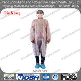 Tablier/robe médicaux non tissés remplaçables de visiteur d'hôpital