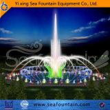 De openlucht Veranderlijke Mooie Fontein van de Muziek van de Lamp