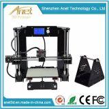 De hoge Printer Fdm van Tridimensional van de zelf-Assemblage van de Nauwkeurigheid 3D met de Veelkleurige Gloeidraad van de Druk