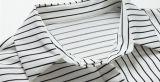 綿の縞の長距離回線部門女性のワイシャツ