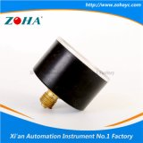 Indicateurs de pression de boîtier plastique d'ABS mini avec le tube de bourdon de forme de C