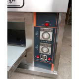 Forno da pizza da plataforma do equipamento da máquina do cozimento do gás do preço de fábrica para a padaria 1deck 2trays