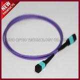 Änderung- am Objektprogrammkabel der Reihen-24F der Faser-Optik-MTP MTP Mehrmoden-des Kabel-OM3