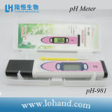 Medidor de pH rápido de la respuesta con la pantalla retroiluminada