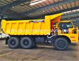 De stijve Vrachtwagen van de Stortplaats met de Capaciteit van de Lading van 90 Ton