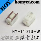 Interruptor tátil do tacto do interruptor do impulso do fabricante SMD de China com 2pin (HY-1101ES-H5W)