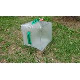 Cubeta ao ar livre de dobramento portátil de Waterskin do saco de água para a caminhada de acampamento