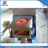 fornalha de derretimento da indução do metal 50kg precioso