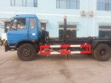4X2 10t 10cbm Hydraulic Lifter Garbage Truck
